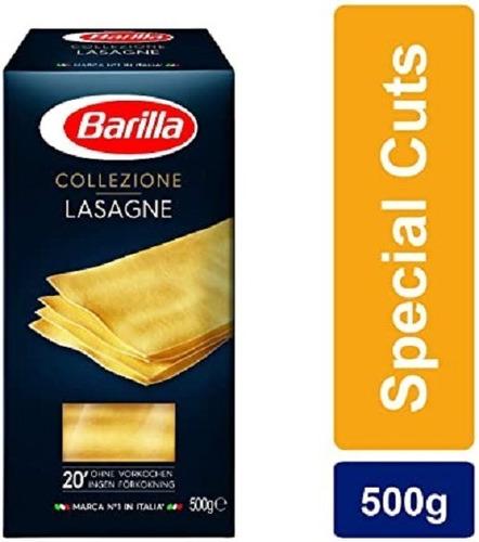 Imagen 1 de 2 de Fideos Italianos Pasta Barilla Lasagna 500g Env. Gratis Caba