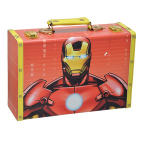 Maleta - 20x30 Cm - Disney - Marvel - Iron Man - Mabruk