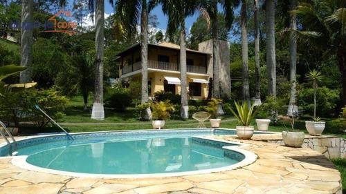Imagem 1 de 17 de Chácara Com 3 Dormitórios, 1570 M² - Venda Por R$ 1.800.000,00 Ou Aluguel Por R$ 8.000,00/mês - Condomínio Lagoinha - Jacareí/sp - Ch0211