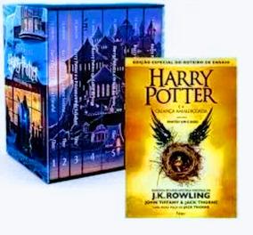 Box Coleção Harry Potter + A Criança Amaldiçoada Livro 8