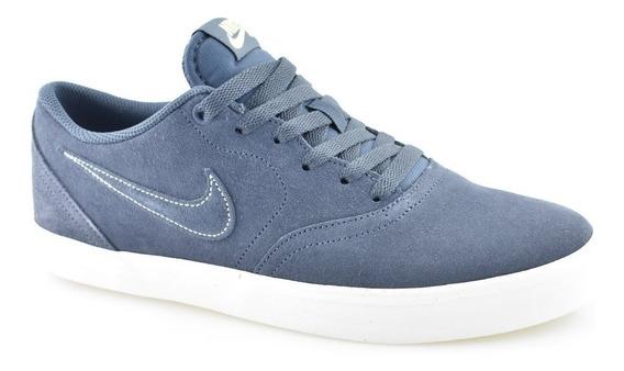 Tênis Nike Azul Sb Check Solarsoft Original| Baby Calçados