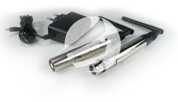 Kit C/ 10 Antenas Dmx Wireless 2,4gh Transmissor Ou Receptor