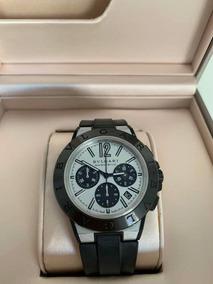 Relógio Bulgari Modelo Diagono, 42mm, Magnesium Semi-novo