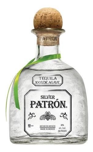 Imagen 1 de 5 de Tequila Patrón Silver 750 Ml