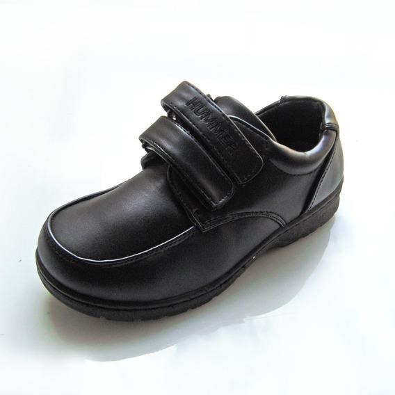 Zapato Colegial Escolar Casual H2 Hummer Niño 26 Al 38
