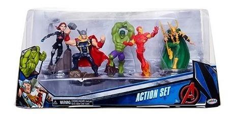 Avengers Vingadores Domo Set De Figuras Sunny