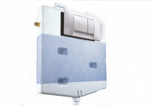 Imagen 1 de 6 de Depósito Embutir Ideal Suma Dual Doble Descarga Con Tapa
