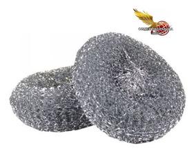 100x760 Fibra Metalica Sacate Para Lavar Trastes