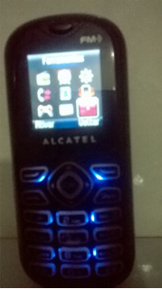 Celular Alcatel One Touch-208-um Chip