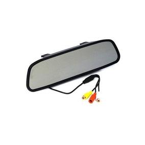 Espelho Retrovisor Monitor Tela Lcd 4.3 Polegadas Colorido