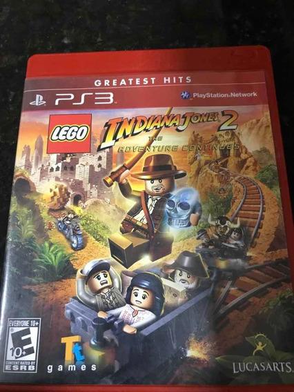 Jogo Ps3 Lego Indiana Jones 2 Original Mídia Física