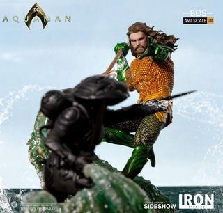 Iron Studios 1/10 Aquaman Vs Black Manta