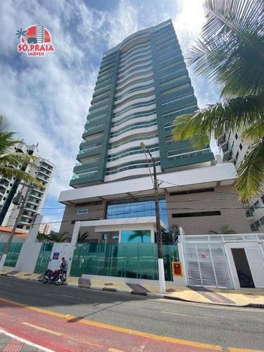 Imagem 1 de 30 de Apartamento Com 2 Dormitórios À Venda, 78 M² Por R$ 433.000,00 - Centro - Mongaguá/sp - Ap2406