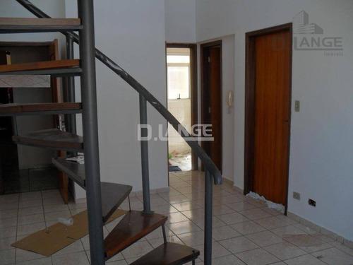 Imagem 1 de 11 de Duplex - 2 Dormitórios Com Garagem Botafogo- Campinas - Ap15823