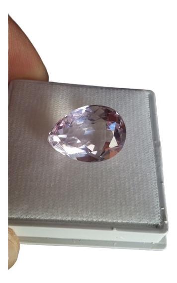 Pedra Preciosa Ametista Naturalpedras Gota 14.5 Ct 19x14 Mm