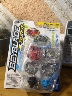 Beyblade Burst Dual Pack Wyvron W2 And Odax O2 (caja Dañada)