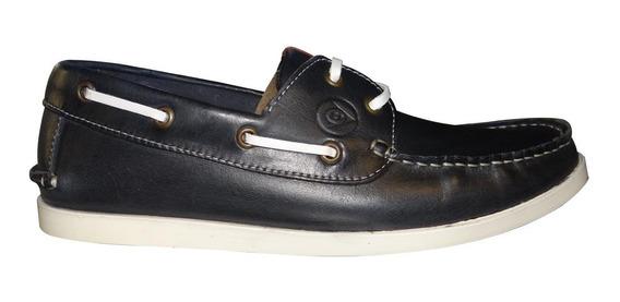 Mocasin Calzado De Cuero Dunlop Top Sider Sailor 2569