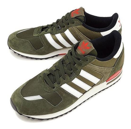 Tenis adidas Zx 700 Verde Escuro 41 Raro Casual