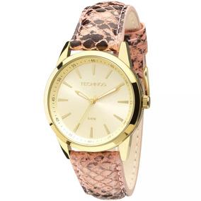 Relógio Technos Barato Feminino Dourado Prova 2035mcs/2x