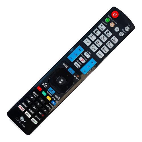 Imagen 1 de 10 de Control Remoto LG Smart Tv Pantalla 3d Grande + Funda Y Pila