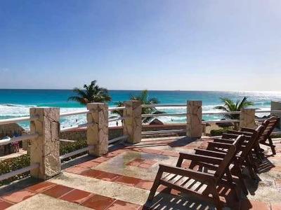 Ph Frente A La Playa En Hotel Solymar En Zona Hotelera De Ca