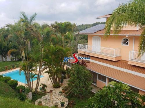 Chácara Com 6 Dormitórios À Venda, 5000 M² Por R$ 1.060.000 - Ibiúna - Ibiúna/sp - Ch0023