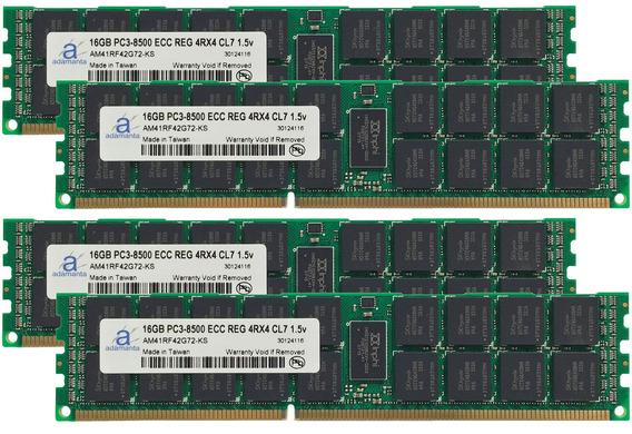 Adamanta 64 Gb (4 X 16gb) Servidor Actualización De Memoria