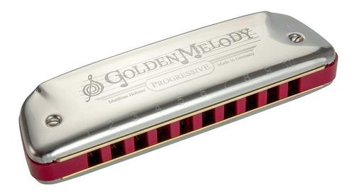 Armonica Diatónica Hohner Golden Melody Nueva Alemania