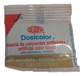 Dosicolor Colorante Vegetal Cafe Caramelo Sobre 2gr