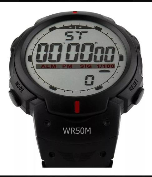 Relógio Digital Potenzia Sport Shock Militar Aprova D