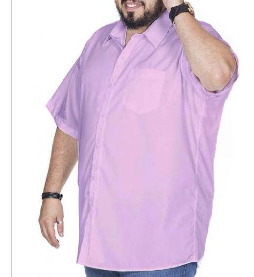 Camisa Manga Curta (extra Grande / Plus Size)