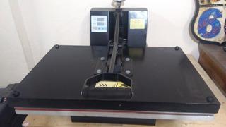 Prensa Térmica Plana Sublimação Transfer Camis 40x60cm 110v