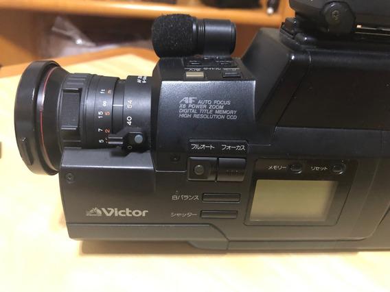 Câmera Filmadora Movie Victor Gr45 Com Maleta - Japonesa