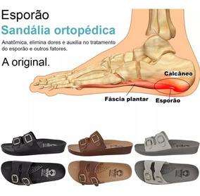 3 Pares Chinela Sandália Ortopédica Feminina Original