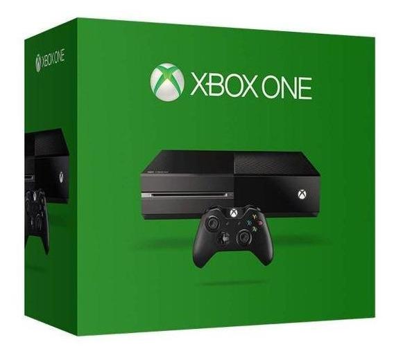 Xbox One 500gb + Kinect + 1 Jogo-microsoft
