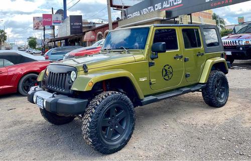 Imagen 1 de 10 de Jeep Wrangler 2008 X Sahara Unlimited 4x4 At