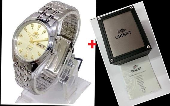 Relógio Automático Orient Fab00009c9 Original 3 Star X Caixa