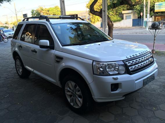 Land Rover Freelander Ii 2011 Branco Se Sd4 Turbo Diesel