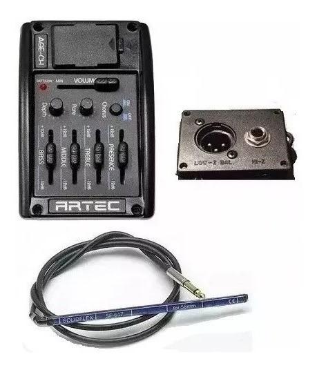 Artec Age Ch Ecualizador Microfono Con Chorus + Sf-617 Piezo