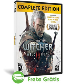The Witcher 3 Pc Wild Hunt Game Of The Year Mídia Física