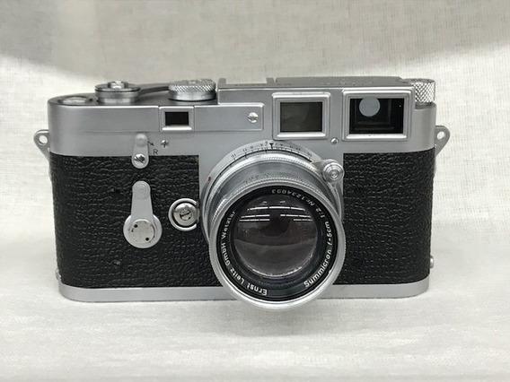 Câmera Leica M3 C/obj.50mm 1:2(analógica)