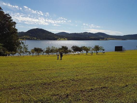 Terreno Pé Na Água Em Condomínio Na Represa De Piracaia