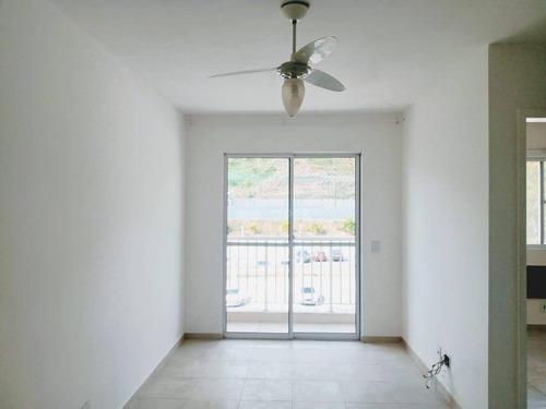 Apartamento Com Varanda, Sol Da Manhã, 2 Dormitórios, Armários À Venda, 58 M² Por R$ 210.000 - Centro - São Gonçalo/rj - Ap46381