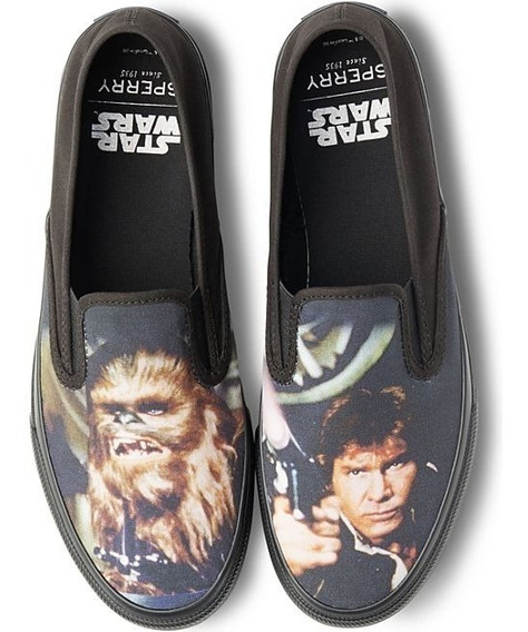 Tênis Cloud Slip On Han & Chewie Sperry Sneaker