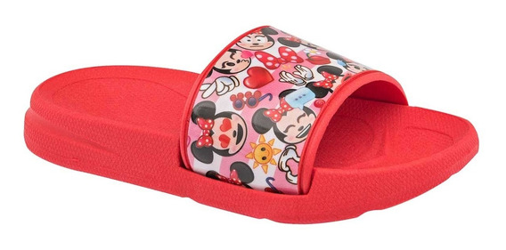 Chanclas Disney Minnie Rojo 995-148