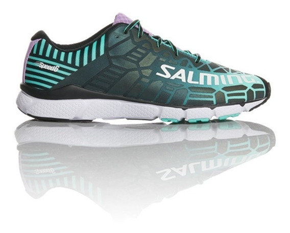 Zapatillas Salming Running Speed 6 Miami Green Mujer