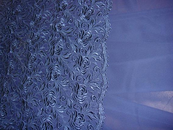 Telas Para Vestido De Fiesta Azul