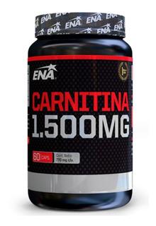 2 X 1 Carnitina 1500mg 60caps Ena Sport Quemador