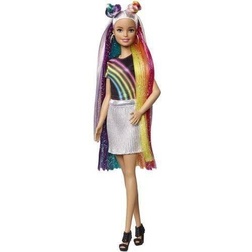 Boneca Barbie Penteados E Arco-iris Mattel Original
