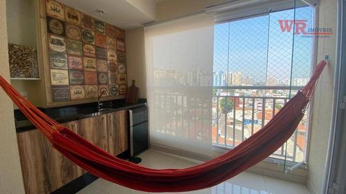 Lindo Apartamento Em São Caetano - Ap3298